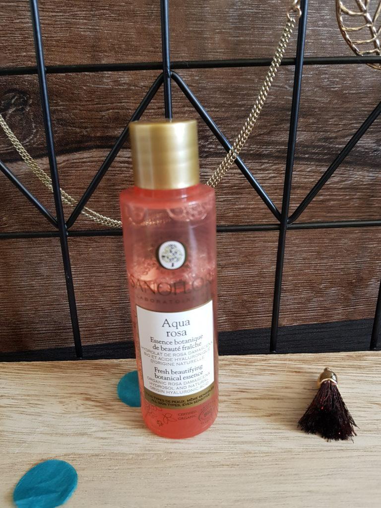 aqua rosa sanoflore routine visage