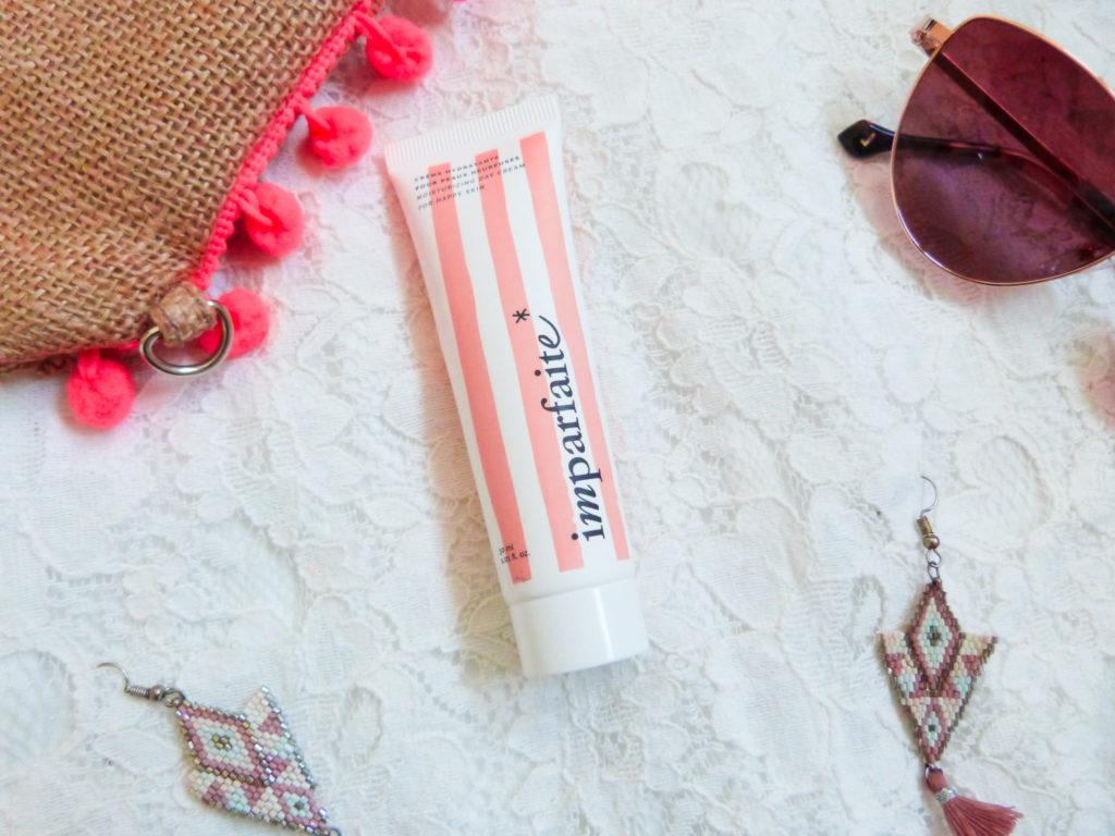 crème hydratante Imparfaite pour peaux heureuses