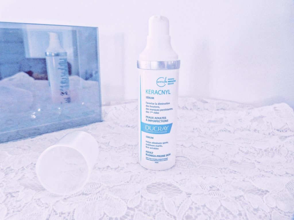 serum keracnyl laboratoires ducray peau acnéique