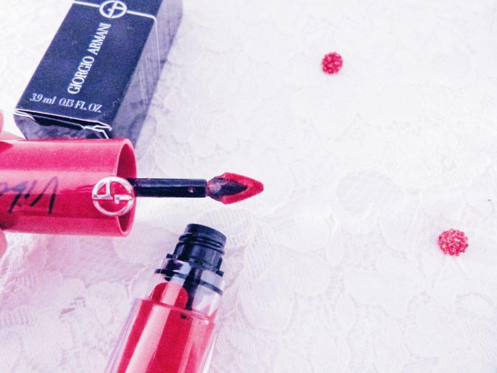 applicateur encre à lèvres Giorgio Armani 513 magenta