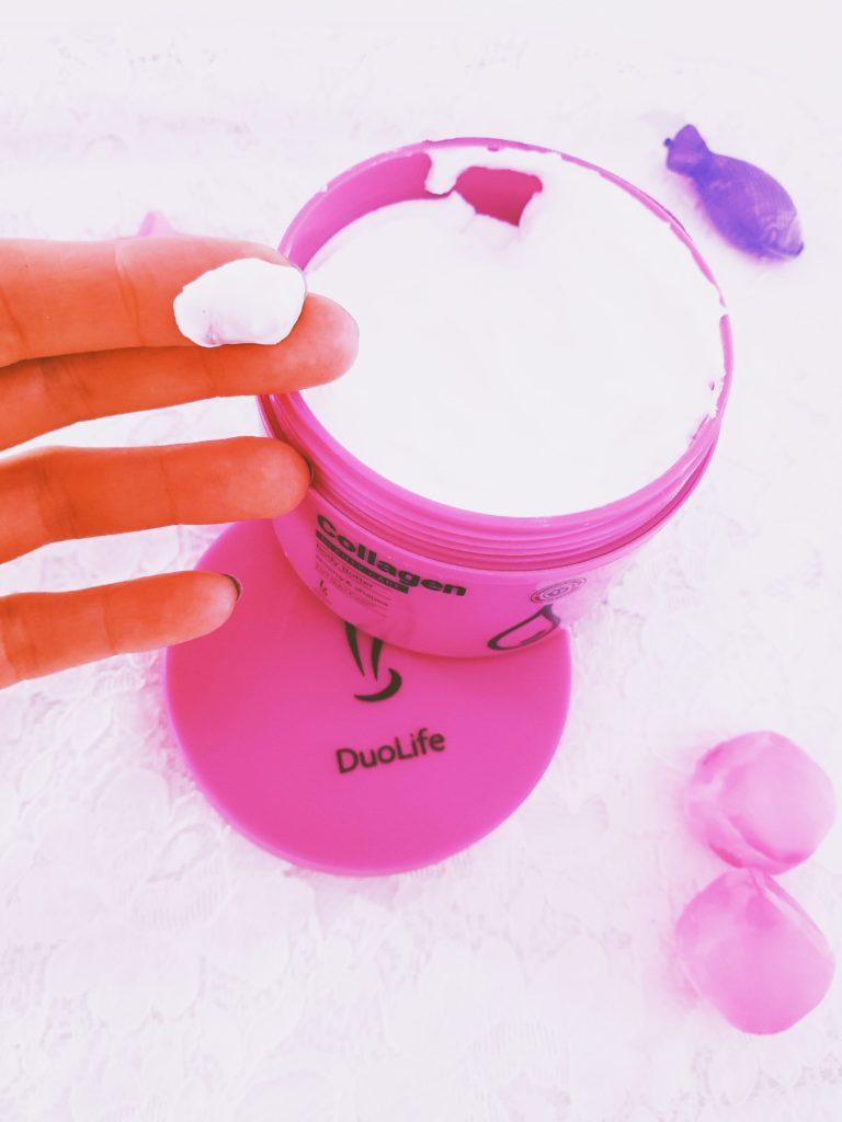 texture beurre collagen duolife pour le corps