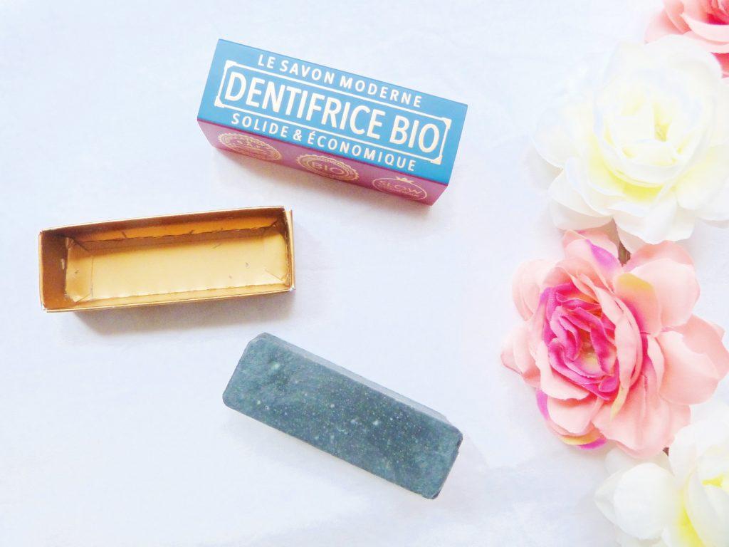 dentifrice solide bio de la marque gaiia