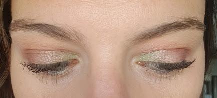 maquillage des yeux réalisé avec les palettes urban factory de action