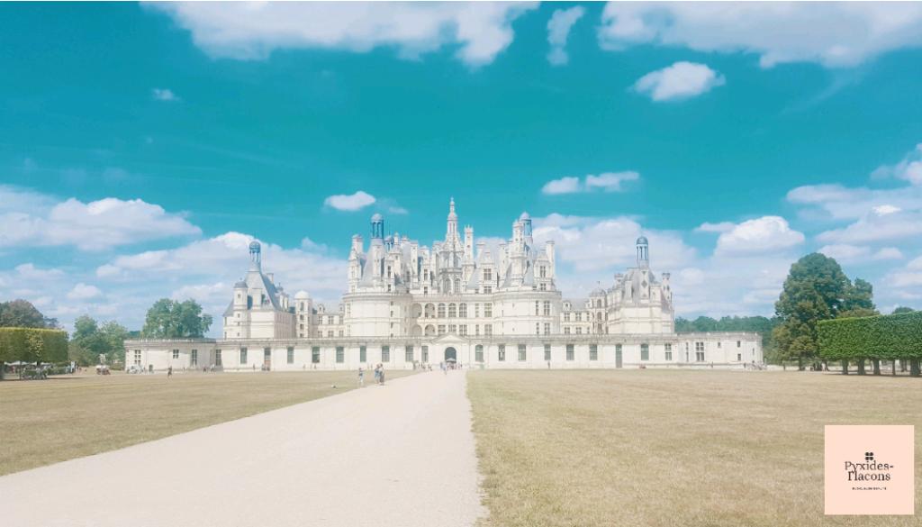 Château de chambord visité pendant mes vacances