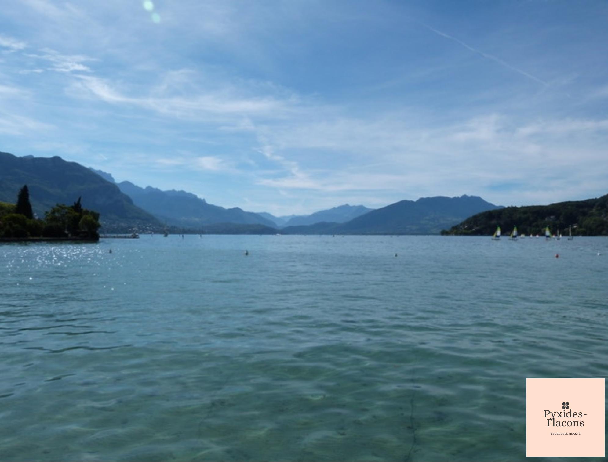 lac annecy pendant les vacances avec moi Pyxides-flacons