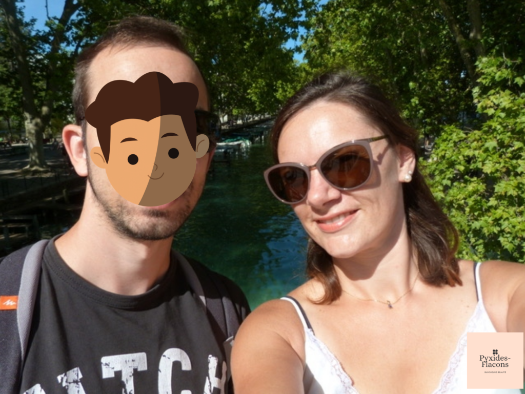 Photo des vacances sur le Pont des amours a annecy