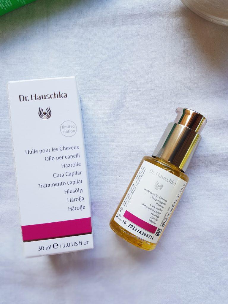 huile pour les cheveux Dr Hauschka prescription lab septembre