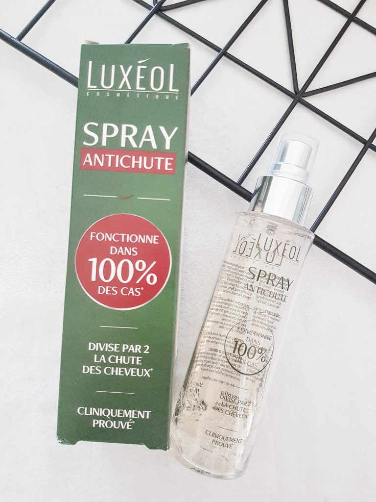 spray anti chute de cheveux luxéol