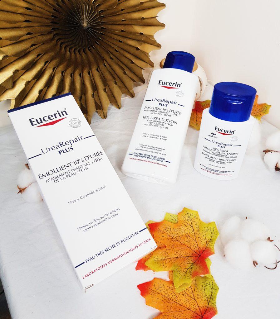 lotion Urea Repair Plus de eucerin 10% d'urée