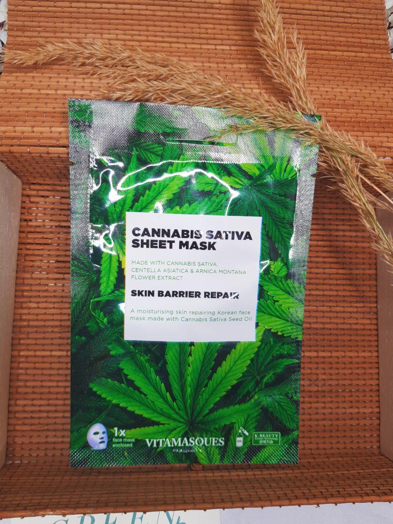 masque visage cannabis vitamasques box surprise