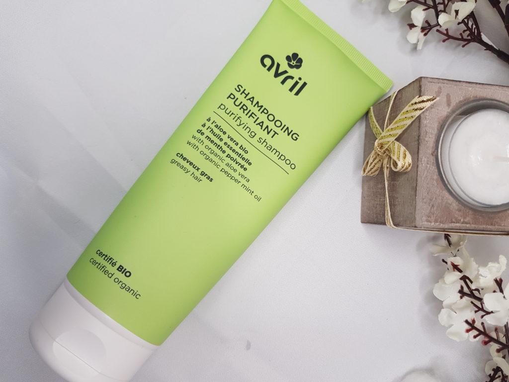 Je teste le shampooing purifiant