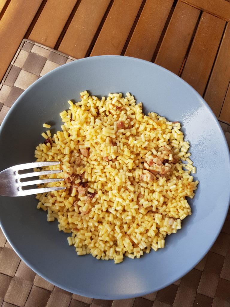macaroni fromages préparés par qilibri