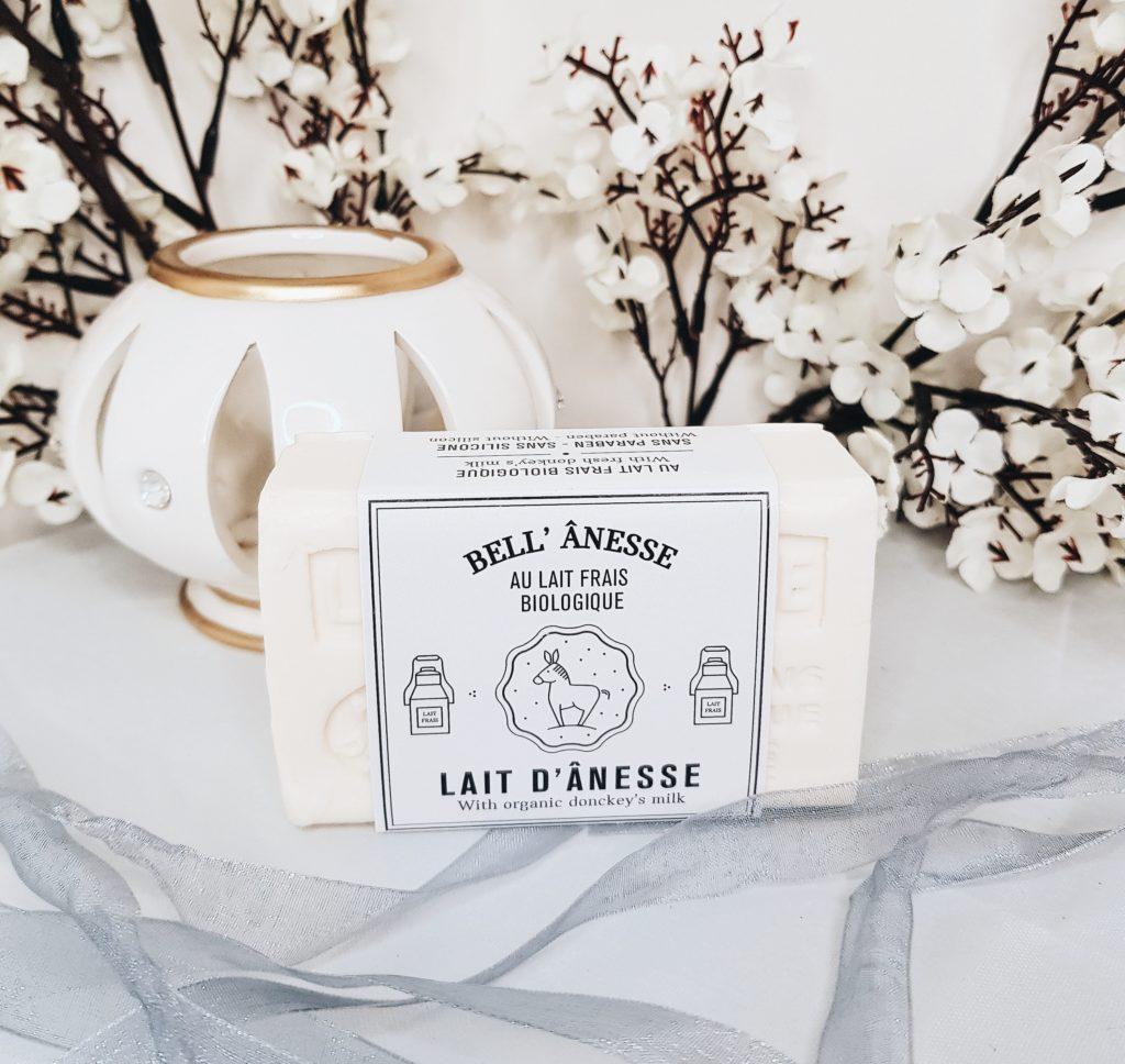 savon au lait d'ânesse bio de Bell'âness en Provence