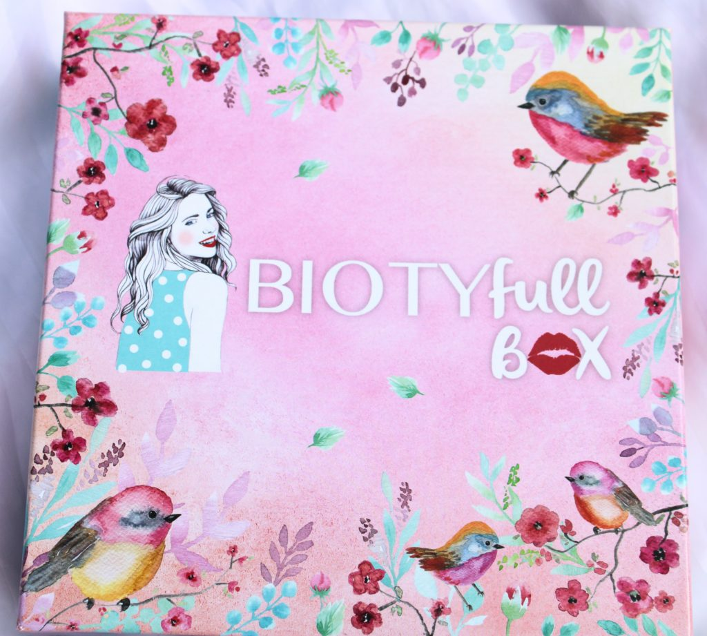 biotyfull box avril 2021 effet bonne mine